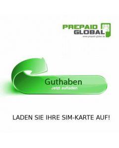 1000-7000 MB Auflade-Guthaben für Schweden Prepaid Daten SIM-Karte (Weiss-Schwarze SIM)