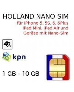 Holland NANO SIM