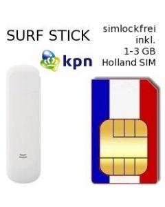 UMTS Surfstick inkl. 1000-3000 MB Holland Prepaid Daten SIM #2