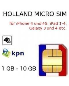 Holland Micro SIM
