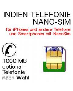 Indien Telefonie NANO SIM