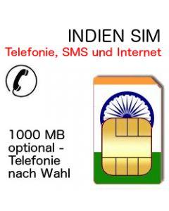 Indien Telefonie SIM