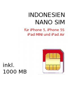 Indonesien NANO-SIM