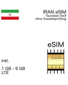 Iran eSIM Iranisch