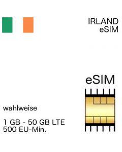 irische eSIM Irland