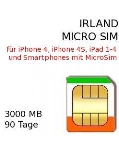 Irland micro-sim