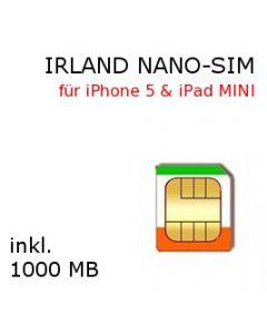 Irland Flatrate NANO SIM