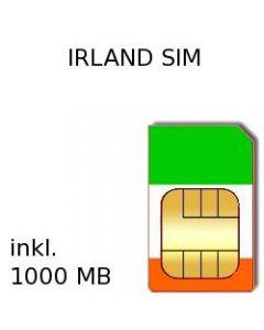 Irland Prepaid Daten SIM Karte