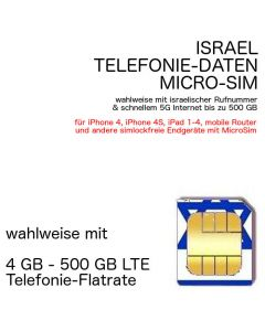 israelische MICRO-SIM israel