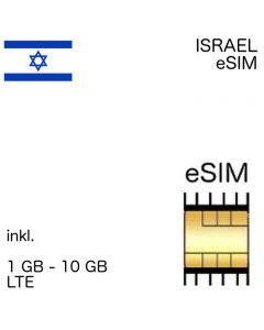 iraelische eSIM Israel