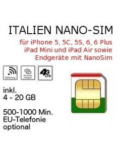 Italien NANO-SIM Vodafone