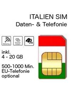 Italien SIM Vodafone