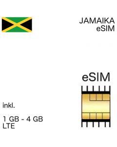 jamaikanische eSIM Jamaika