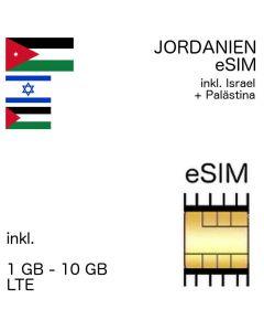 Jordanien eSIm jordanisch