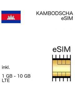 Kamboscha eSIM kambodschanisch