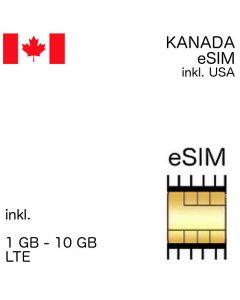 eSIM Kanada