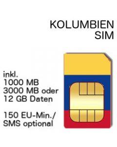 Kolumbia SIM