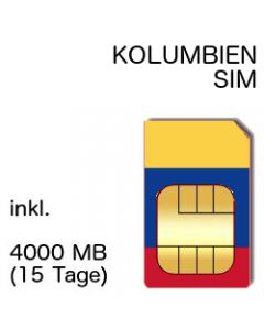 Kolumbien SIM