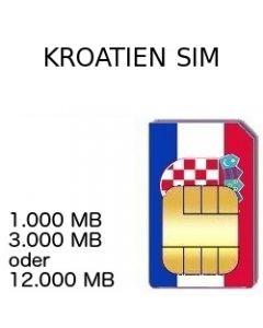 Kroatien SIM