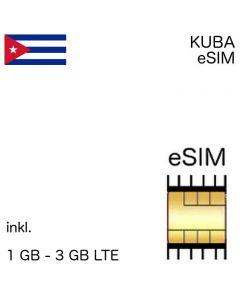 Kuba eSIM Kubanisch