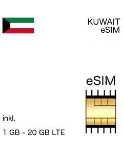 kuwaitische Esim Kuwait
