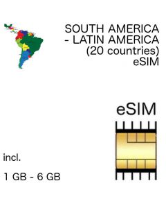 south america eSIM Latin America