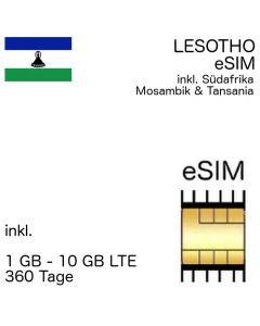 lesothisch eSIM Lesotho