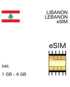 Libanesische eSIM Libanon