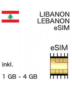 Libanon eSIM Lebanon