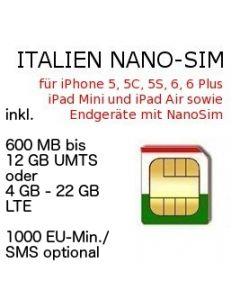 Italien NANO SIM