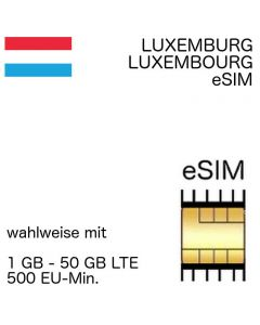Luxemburg eSIM Luxembourg