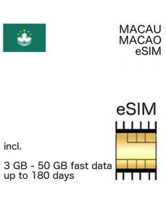 Macau eSIm Macao