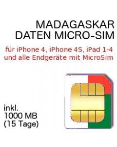 MADAGASKAR MICRO SIM