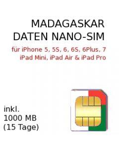 MADAGASKAR NANO SIM