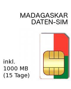 MADAGASKAR SIM