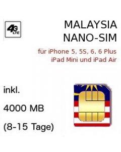 Malaysia NANO SIM