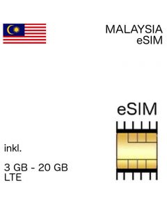 Malaiische eSIM Malaysia