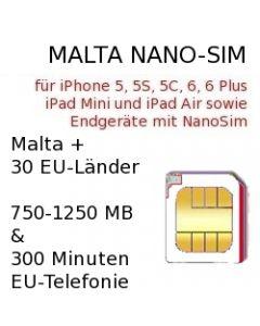 Malta Nano-Sim