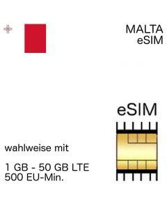 Maltesische eSIM Malta