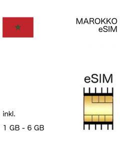 marokkanische eSIM Marokko