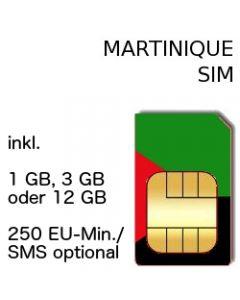 Martinique SIM