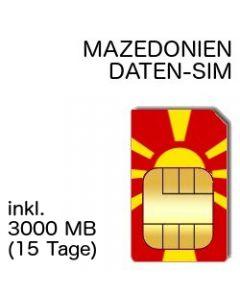 Mazedonien SIM