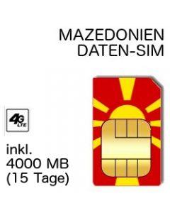 Mazedonien LTE SIM