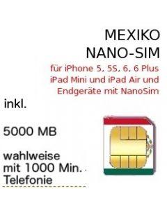 Mexiko Nano SIM