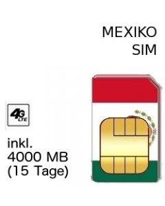 MEXIKO SIM LTE