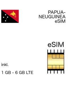 eSIM Papue-Neuguinea