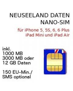 Neuseeland NANO SIM