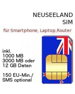 Neuseeland SIM