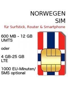 Norwegen SIM LTE