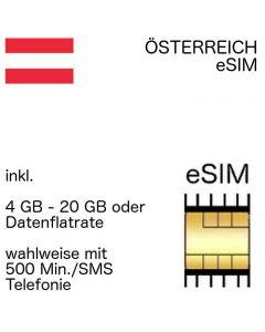 österreichische eSIM Österreich